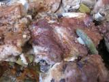 Свиные ребрышки тушенные с овощами.