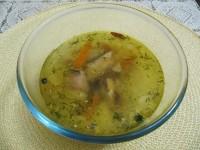 Суп из рыбной консервы.