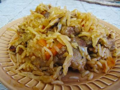Бигус с рисом.