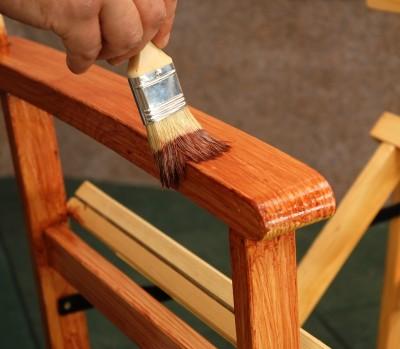 Отделка деревянных изделий.